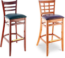 Wood Bar Stools  sc 1 th 199 & Restaurant Furniture Supply: Booths Chairs Tables and Stools