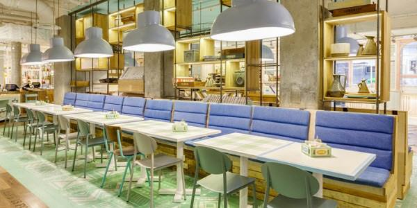 The Role The Interior Of A Small Fast Food Restaurant Design Plays Has  Grown From Décor, Colors, And Material. It Now Involves Being Creative And  Searching ...