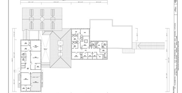 Restaurant floor plan example