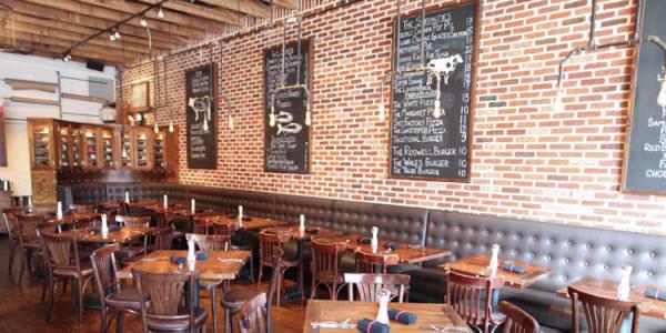 Steak house restaurant decor