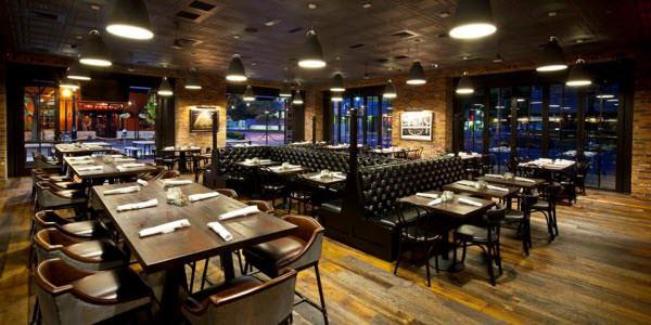 Fine dining interior design