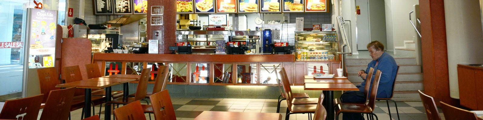 modern fast-food restaurant