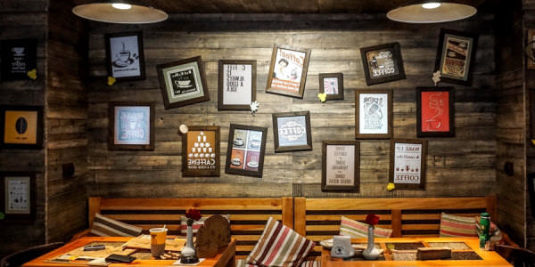Country style restaurant design