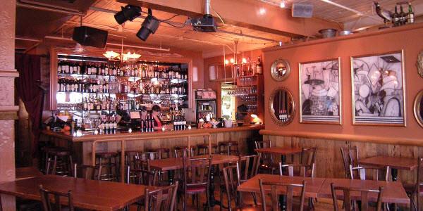 Bar and restaurant decor