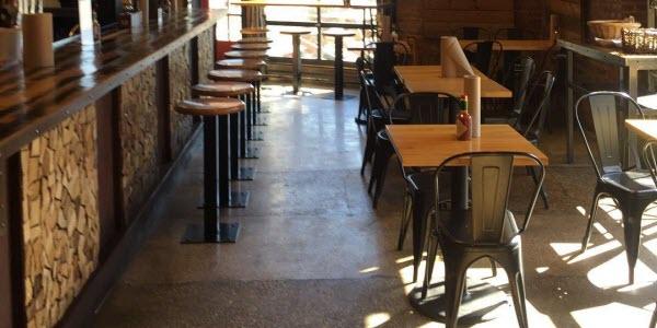 industrial restaurant furniture and design
