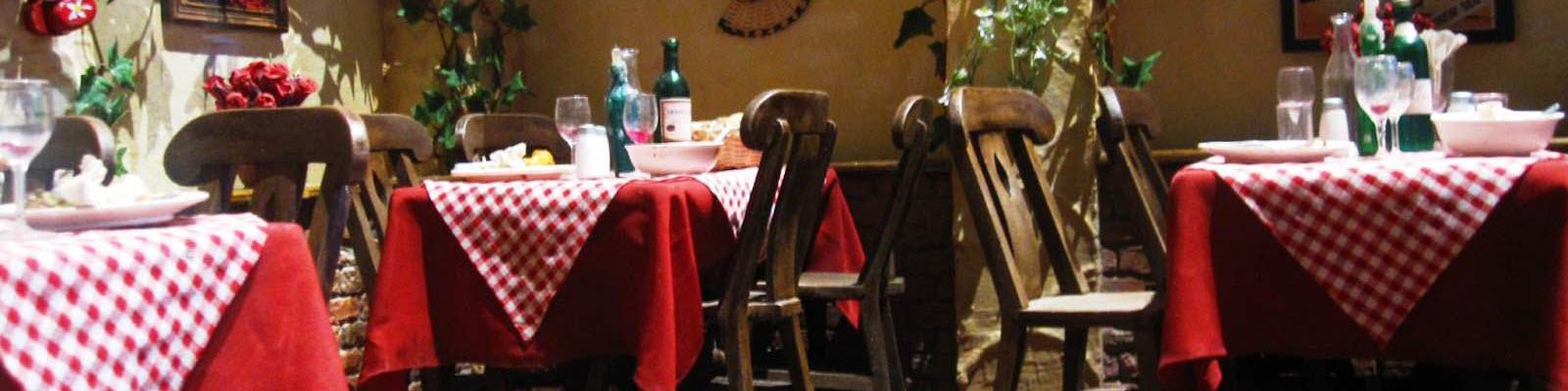 Ethnic restaurant decor