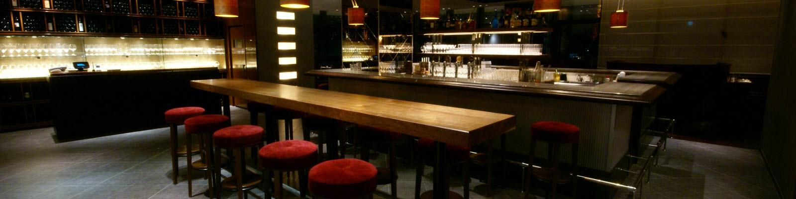 Modern bar design and furniture