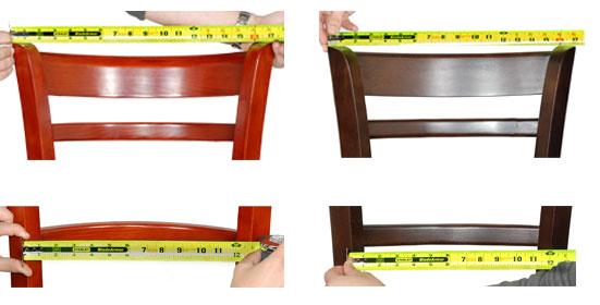Comfort comparison for restaurant furniture